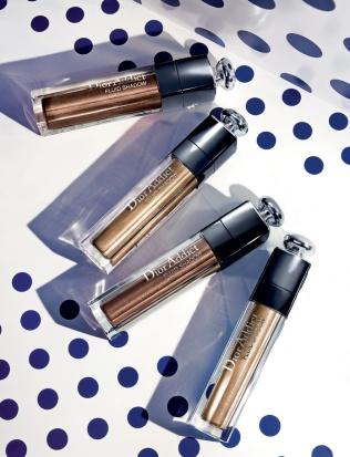 Sombras de ojos Dior Addict Fluid Shadow, imagen de la página web de Dior