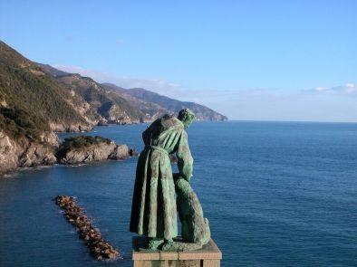 Estatua de San Francesco (Monterosso), vía web Cinque Terre