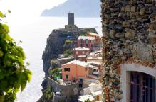 La Torre de Vernazza, vía web de Cinque Terre