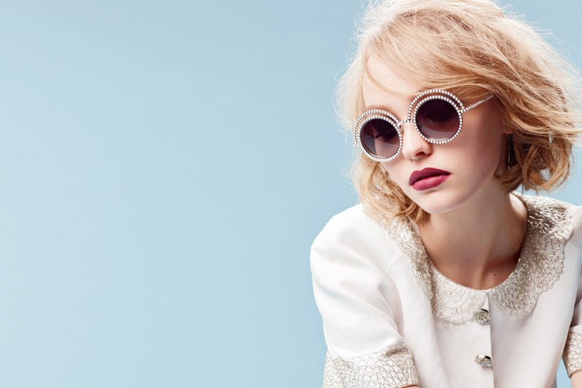 Lily-Rose Depp para Chanel. Imagen de Vogue UK