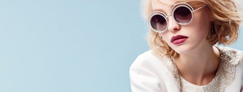 Lily-Rose Depp para Chanel. Imagen de Vogue UK