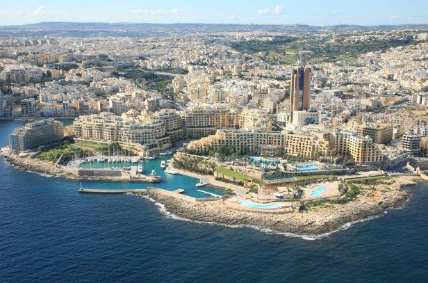 Saint Julians desde el aire, imagen vía G3 Newswire
