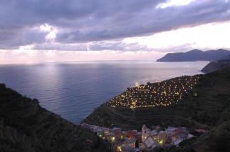 Manarola, vía web Cinque Terre
