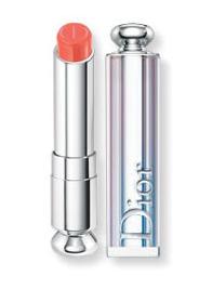 Dior Addict Lipstick en color melocotón, imagen de la página web de Dior