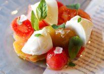 Tomates Pepa con mozarella de búfala, vía Pepa Tomate