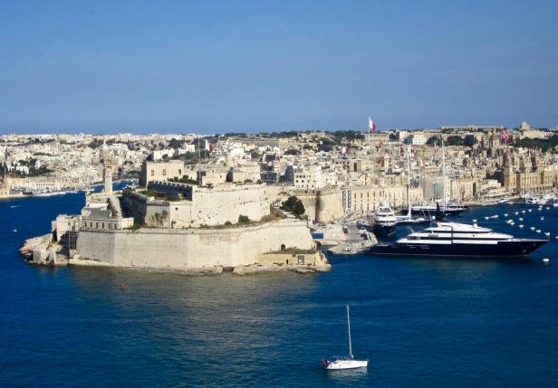 Panorámica de las tres ciudades (Malta), imagen propia