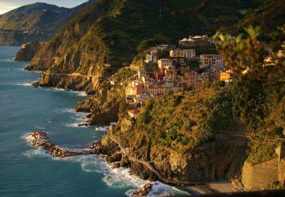 Via dell'Amore y Riomaggiore, vía web de Cinque Terre