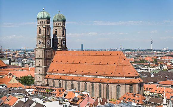 Catedral de Múnich, imagen de www.guiadealemania.com