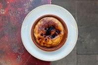 crema catalana quemada, foto de la página web del restaurante