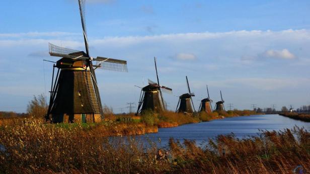 Molinos Kinderdijk_foto de actualidadviajes.com