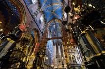 Interior Iglesia Santa María, vía www.cracovia.net