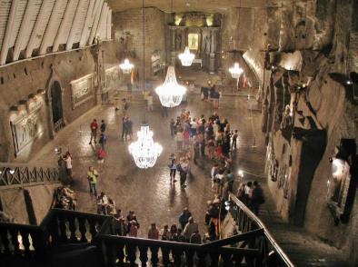 Minas de sal Wieliczka, vía www.guias-viajar.com