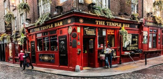 Temple Bar, imagen de la página web de theculturetrip