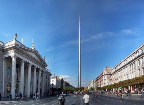 The Spire of Dublin, imagen de la página web Mimoa